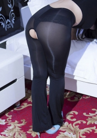 Womens Sexy Lingerie See Through Leggings Sheer Leggings Multi-colors