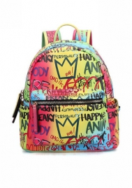 (Large Size )Women Fashion Graffiti Handbag